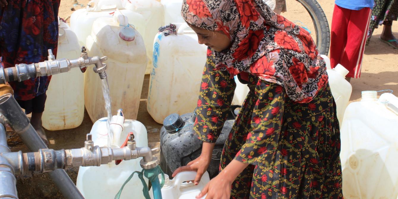 أيام قليلة تفصل الملايين من اليمنيين عن فقدان المياه النظيفه بالكامل